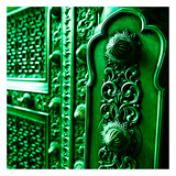 Green Door Prints by Peter Morneau