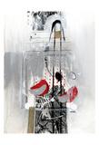 Série Dorure 9 Prints by Sylvie Cloutier