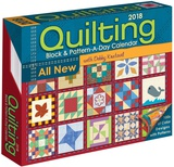 Quilting Block & Pattern-a-Day 2018 Calendar - 2018 Boxed Calendar Calendars