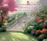 Thomas Kinkade Painter of Light with Scripture Deluxe - 2018 Calendar Calendars
