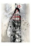Série Dorure 3 Prints by Sylvie Cloutier