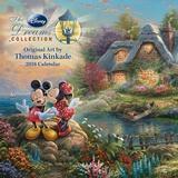 Thomas Kinkade: The Disney Dreams Collection - 2018 Calendar Kalenders