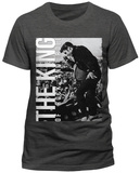 Elvis Presley - The King Of Rock And Roll T-shirts
