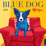 Blue Dog - 2018 Calendar Calendars
