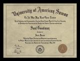 Better Call Saul - Diploma Collector Print