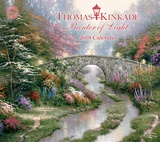 Thomas Kinkade Painter of Light Deluxe - 2018 Calendar カレンダー