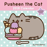 Pusheen the Cat - 2018 Calendar カレンダー