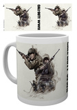 Mug Call of duty - World War II - fumo Tazza