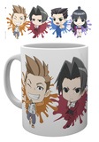 Mug Chibi - Ace attorney Tazza
