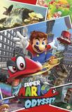 Super Mario Odyssey - Colagem Posters