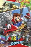 Super Mario Odyssey - Collage Poster