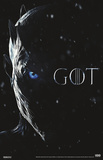 Game Of Thrones - Night King Eye Poster
