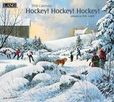 Hockey Hockey Hockey - 2018 Calendar Kalendere