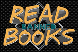 Tekst 'Read Banned Books'  Posters