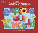 Schoolhouse - 2018 Calendar Kalenders