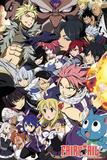 Fairy Tail - Season 6 Key Art Posters