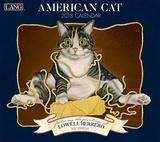 2018 - Calendrier du Chat américain, par Lowell Herrero  Calendriers