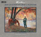 Legends In Gray - 2018 Calendar Kalenders