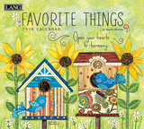 Favorite Things - 2018 Calendar Calendars