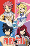 Fairy Tail - Quad Prints