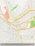 El Paso, United States of America Map Print