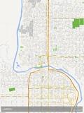 Laredo, United States of America Map Prints