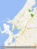 Benghazi, Libya Map Prints