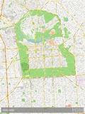 Adelaide, Australia Map Poster