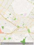 Kabul, Afghanistan Map Prints