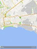 Baku, Azerbaijan Map Prints