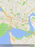 Perth, Australia Map Posters