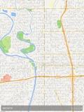Wichita, United States of America Map Posters