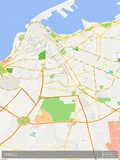 Tripoli, Libya Map Photo