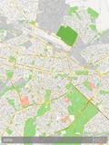 Sofia, Bulgaria Map Print