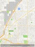 North Las Vegas, United States of America Map Photo