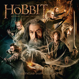 The Hobbit - 2018 Square Calendar Calendarios