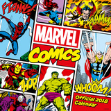 Marvel Comics - Classic 2018 Square Calendar Calendars
