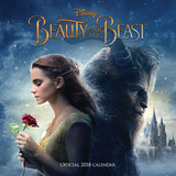 Beauty and the Beast - 2018 Square Calendar Kalenders