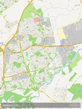 Washington, United Kingdom Map Print