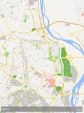 Delhi, India Map Prints