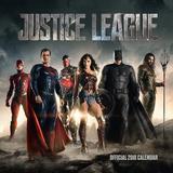 Justice League - 2018 Square Calendar Calendriers