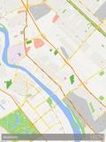 Baghdad, Iraq Map Prints