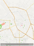 Ludhiana, India Map Poster
