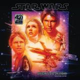 Star Wars 40th Anniversary - 2018 Square Calendar Kalendere