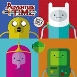 Adventure Time - 2018 Square Calendar Calendriers