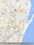 Chennai, India Map Prints