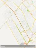 Basrah, Iraq Map Posters