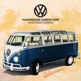 VW Camper Vans - 2018 Square Calendar Calendars