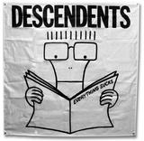 Descendents - Everything Sucks Flag Print