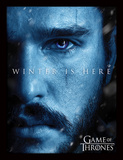 Game Of Thrones - Winter Is Here - Jon Collector-tryk